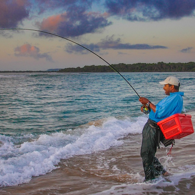 Guided Fly Fishing tours at Kosi Bay Mouth.
